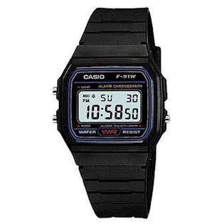 F-91W-1YER Casio Collection retro digital ur